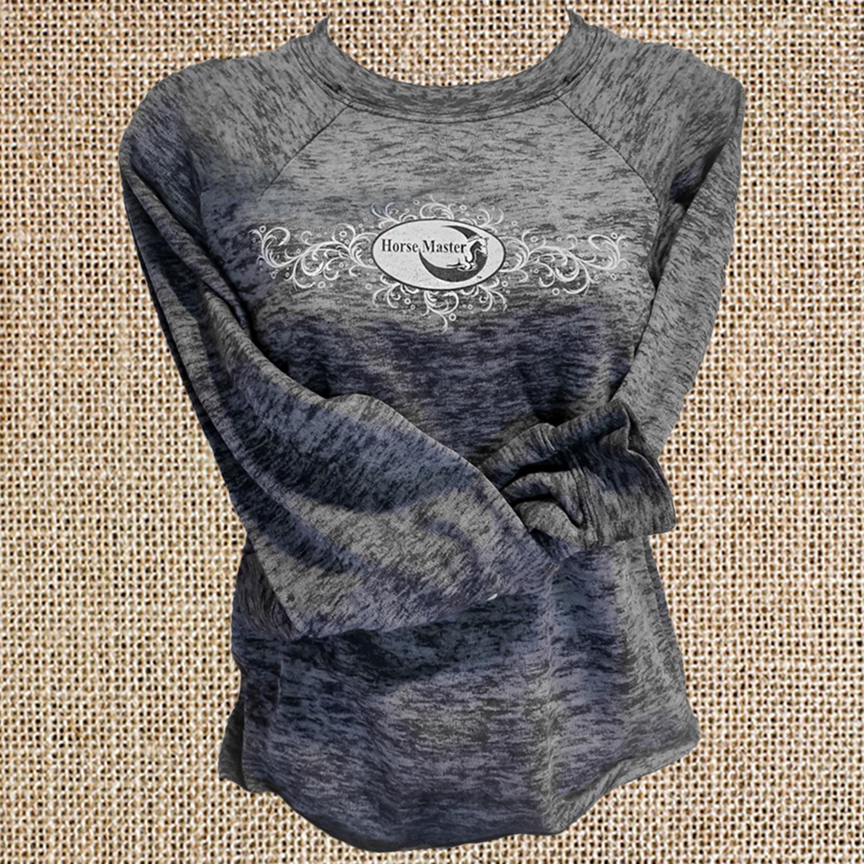95adfb260ba Julie Goodnight Shop – Grey Burnout Long Sleeve Shirt