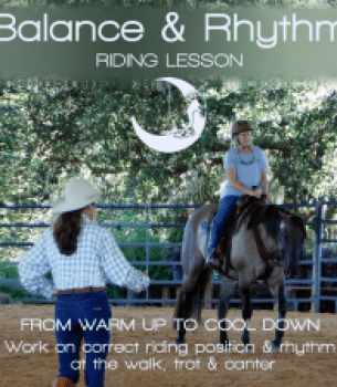 Private Lessons: Balance & Rhythm Listen as You Ride