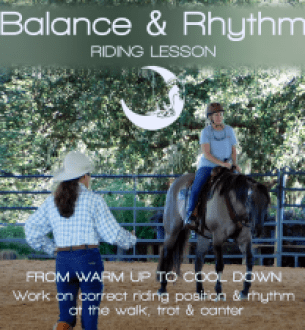 Private Lessons: Balance & Rhythm-Listen as You Ride- (MP3)