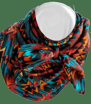 Silk Scarf-Print