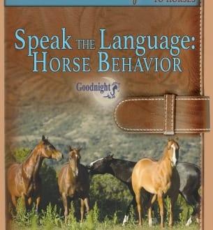 Speak the Language: Horse Behavior (Streaming)