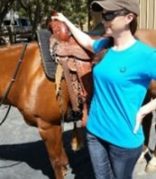Horse Master Captain Speaking T-Shirt – Sapphire Blue