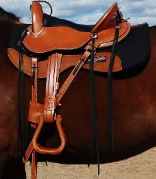 Cascade Crossover Saddle