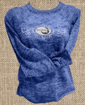 Heather Blue Long Sleeve Sweatshirt