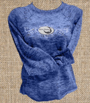 Heather Blue Long Sleeve Sweatshirt
