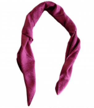 Jacquard Silk Scarf